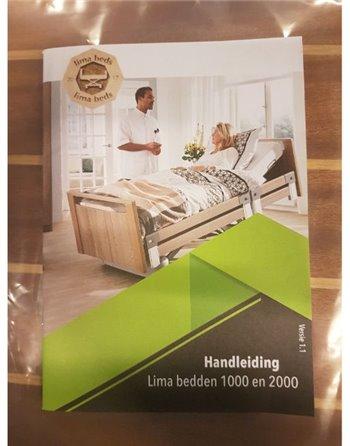 Zorgbed / verpleegbed / hoog laag bed NIEUW